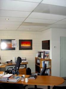 iroda fűtése, infrapanel, Energotech