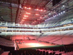 infra hősugárzó, arena